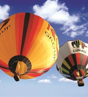 Apžvalginis skrydis karšto oro balionu