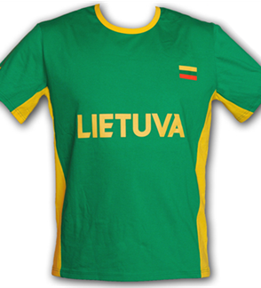 """Man's T-shirt """"LIETUVA"""""""