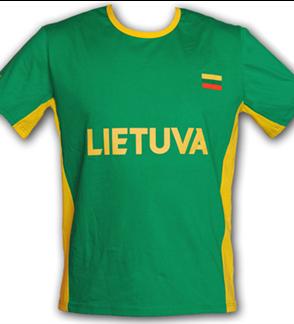 """Woman`s T-shirt """"LIETUVA"""""""