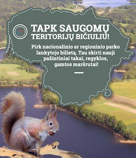 Parkų lankytojų bilietai