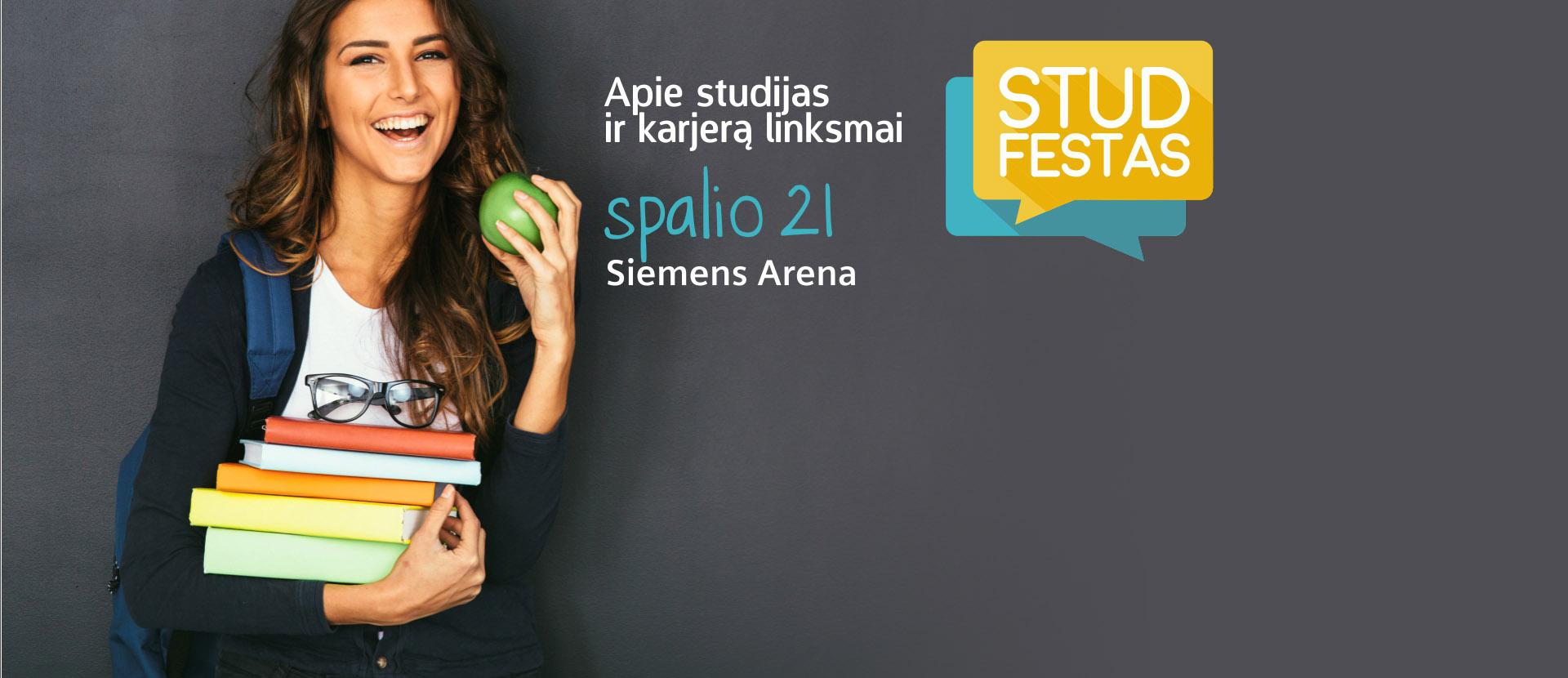 Studfestas - konferencija apie studijas ir karjerą