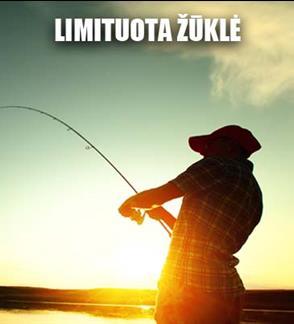 Žvejo mėgėjo kortelė limituotai upinių nėgių žvejybai nuo birželio 1 d. iki gruodžio 31 d.