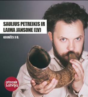 Saulius Petreikis ir Laima Jansone (Latvija)