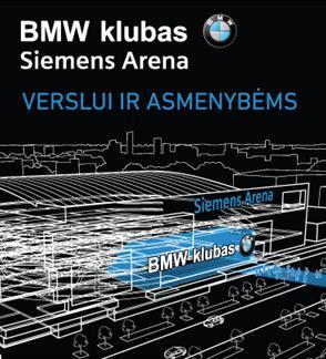2016/2017 sezono BMW klubo renginių narystės papildymas krepšinio naryste