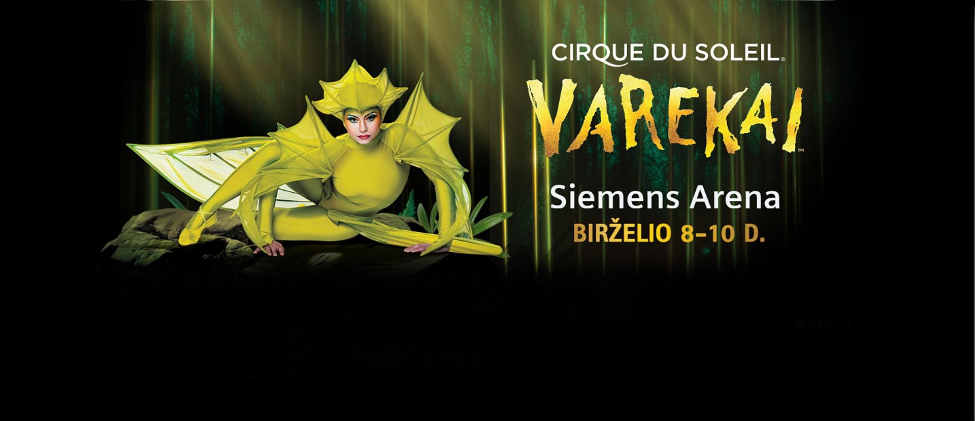 Elitinis pasaulio šou Cirque du Soleil – Varekai