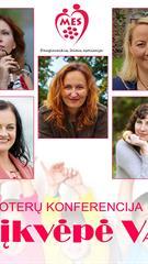 """Moterų konferencija """"Mane įkvėpė vaikai"""""""