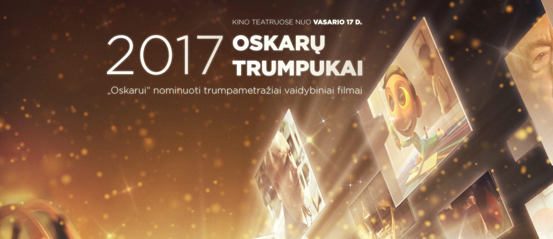 Oskarų trumpukai 2017 PREMJERA