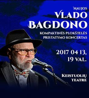 Vlado Bagdono naujo CD pristatymas   Vilnius