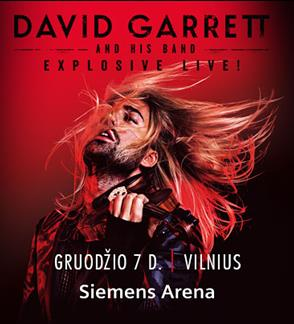 DAVID GARRETT & HIS BAND - EXPLOSIVE 2017