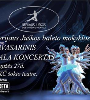 Pavasarinis baleto Gala koncertas