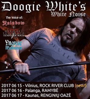 DOOGIE WHITE`S WHITE NOISE koncertas (ex-RAINBOW)