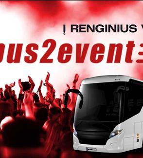Bus2event autobusas į Depeche Mode koncertą 2018.02.22 (iš Kauno)