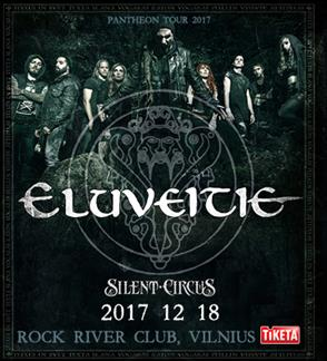 ELUVEITIE - Pantheon Tour 2017
