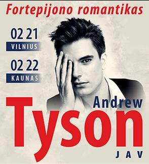 Andrew Tyson - fortepijono romantikas