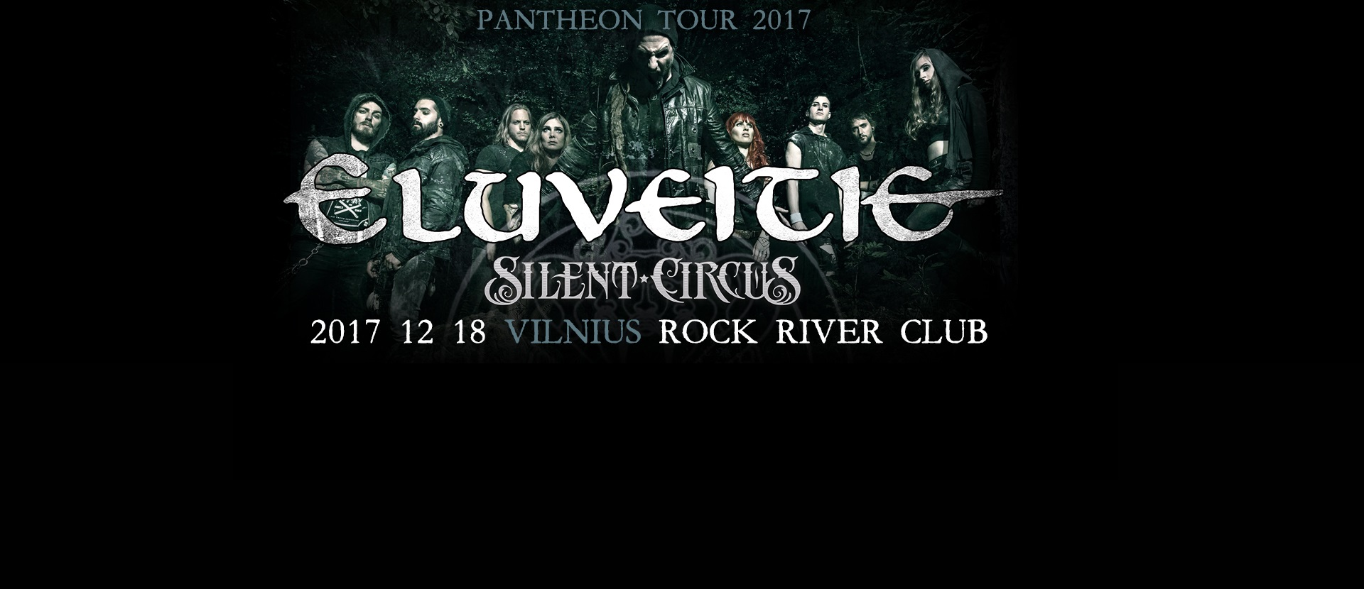 ELUVEITIE - Pantheon Tour 2017