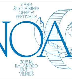"""7-asis šiuolaikinės operos festivalis NOA. Opera """"α"""""""