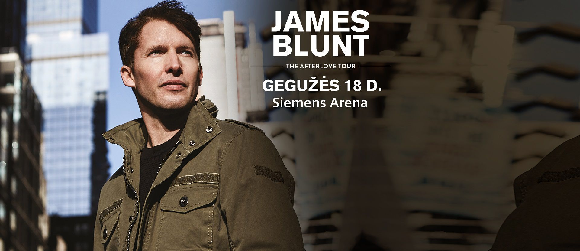 JAMES BLUNT THE AFTERLOVE TOUR
