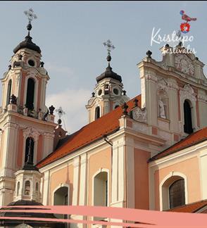 """Kristupo festivalis: Ekskursija """"Po Šv. Kotrynos bažnyčios apylinkes"""""""
