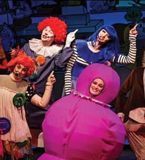 """Muzikinis spektaklis šeimoms """"Pabėgimas iš Trepsės namų""""   Klaipėda"""