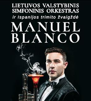 Trimito žvaigždė MANUEL BLANCO (Ispanija) ir LVSO