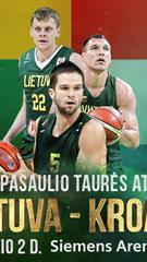 FIBA Pasaulio taurės atranka: Lietuva - Kroatija