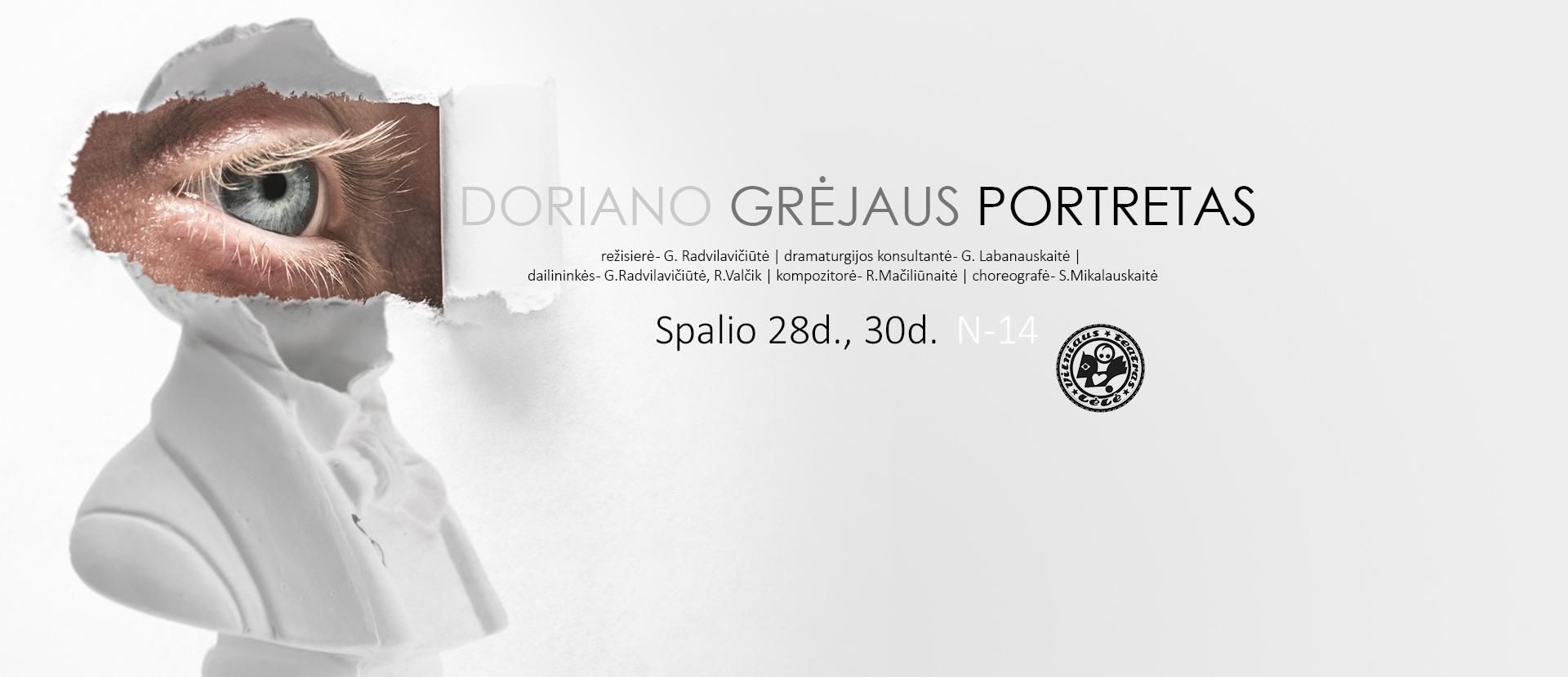 Doriano Grėjaus Portretas | Pagal Oscarą Wilde'ą