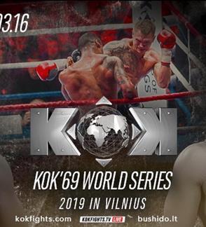 """Tarptautinis turnyras """"BUSHIDO KOK 2019 Vilnius"""""""