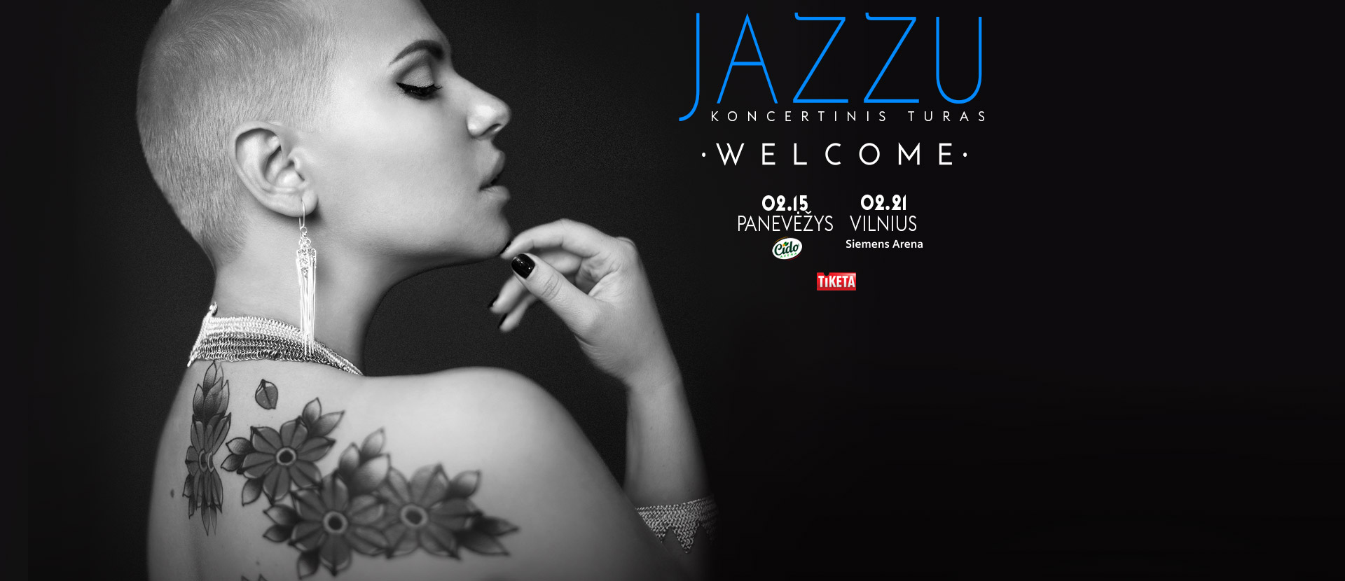 JAZZU. WELCOME koncertinis turas