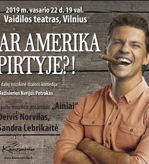 """Muzikinė komedija """"Ar Amerika pirtyje?!"""""""