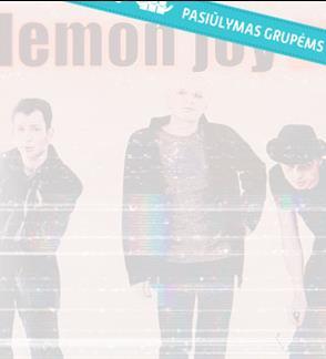 Pasiūlymai grupėms: Lemon Joy - 25