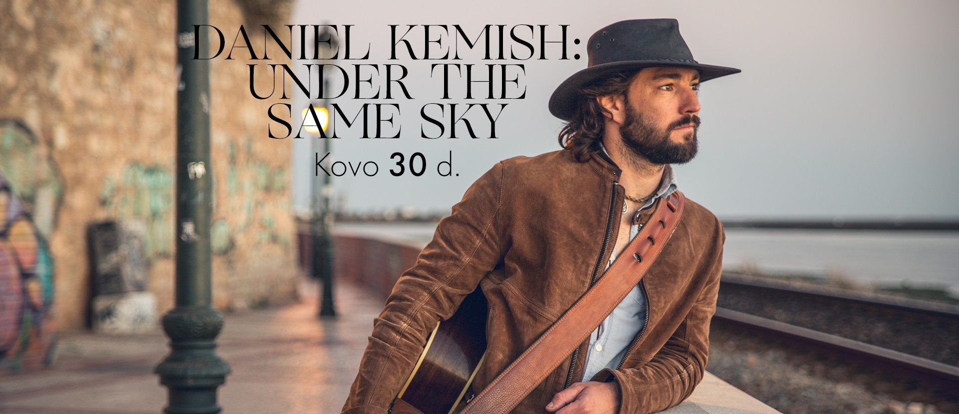 Kristupo festivalis: DANIEL KEMISH: UNDER THE SAME SKY