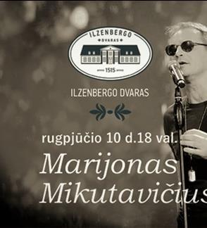 M. Mikutavičius concert in the Ilzenberg Manor