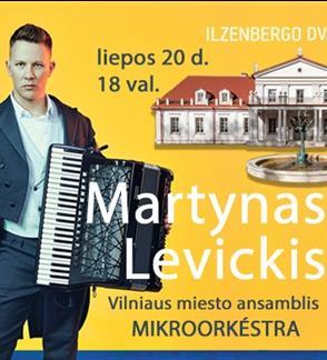 Martyno Levickio koncertas Ilzenbergo dvare