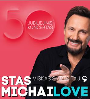 Stas Michailov. Jubiliejinis turas. 50 metu