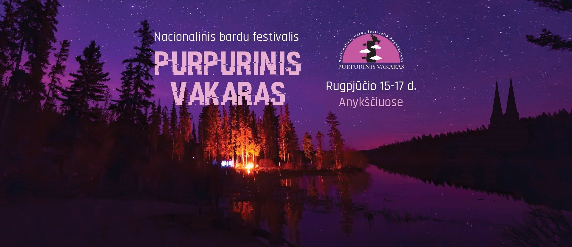 """Nacional bard festival """"Purpurinis vakaras"""""""