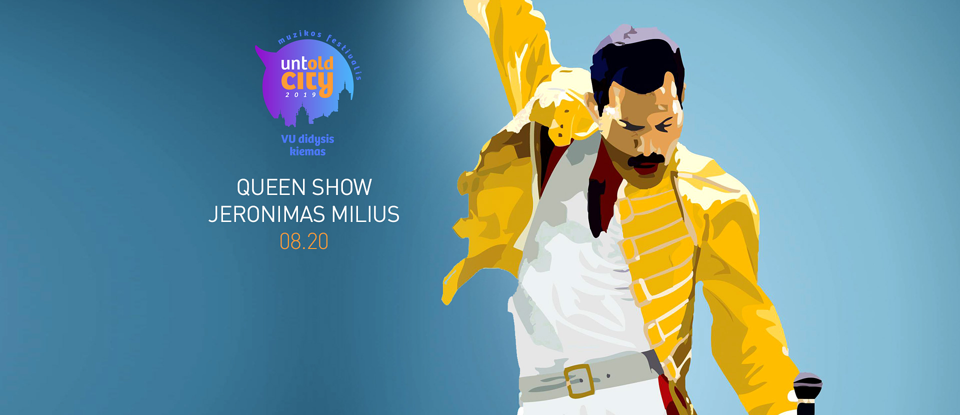 Queen Show. Jeronimas Milius | UNTOLD CITY