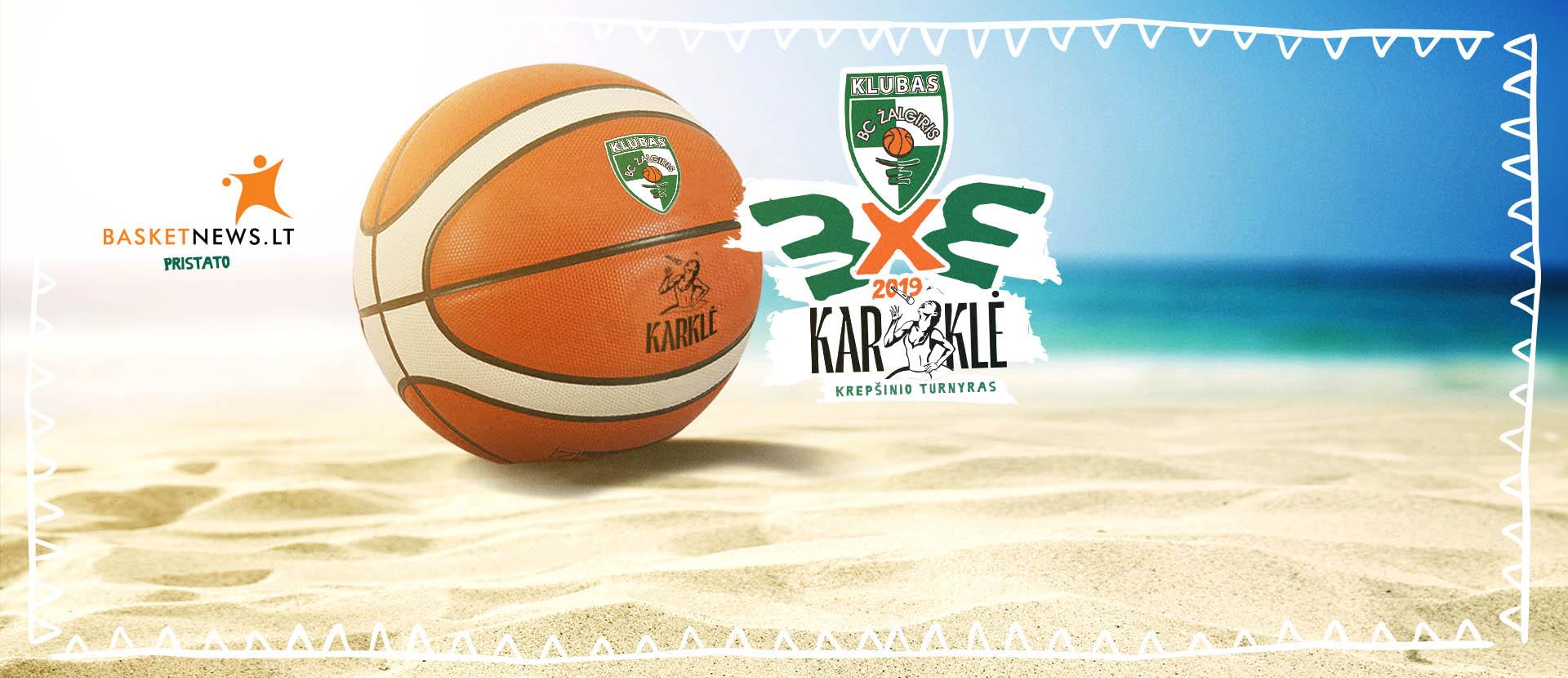 Karklė bei Žalgirio Garbės Klubo 3x3 krepšinio turnyras