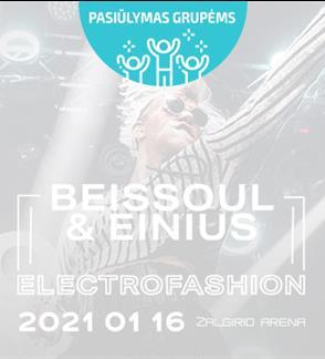 Pasiūlymai grupėms: Beissoul & Einius