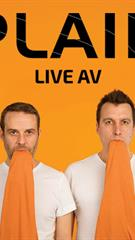 PLAID - britų elektroninės muzikos duetas: Live AV
