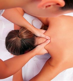 Galvos ir kaklo bei pečių juostos masažas