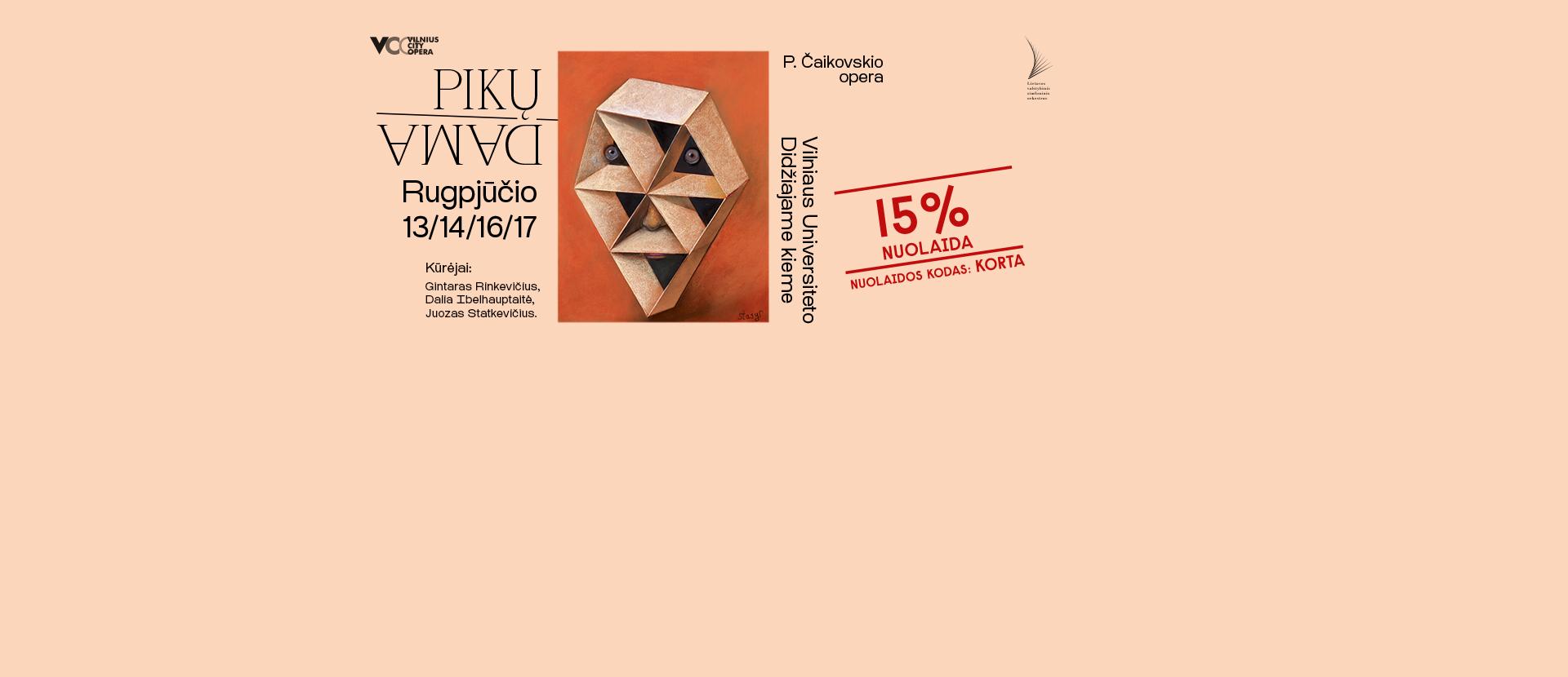 Naujausia premjera PIKŲ DAMA P. Čaikovskio opera