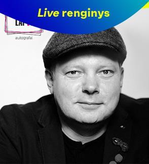 LIVE: Vilniaus lapai. Vakaras su rašytoju Rimantu Kmita