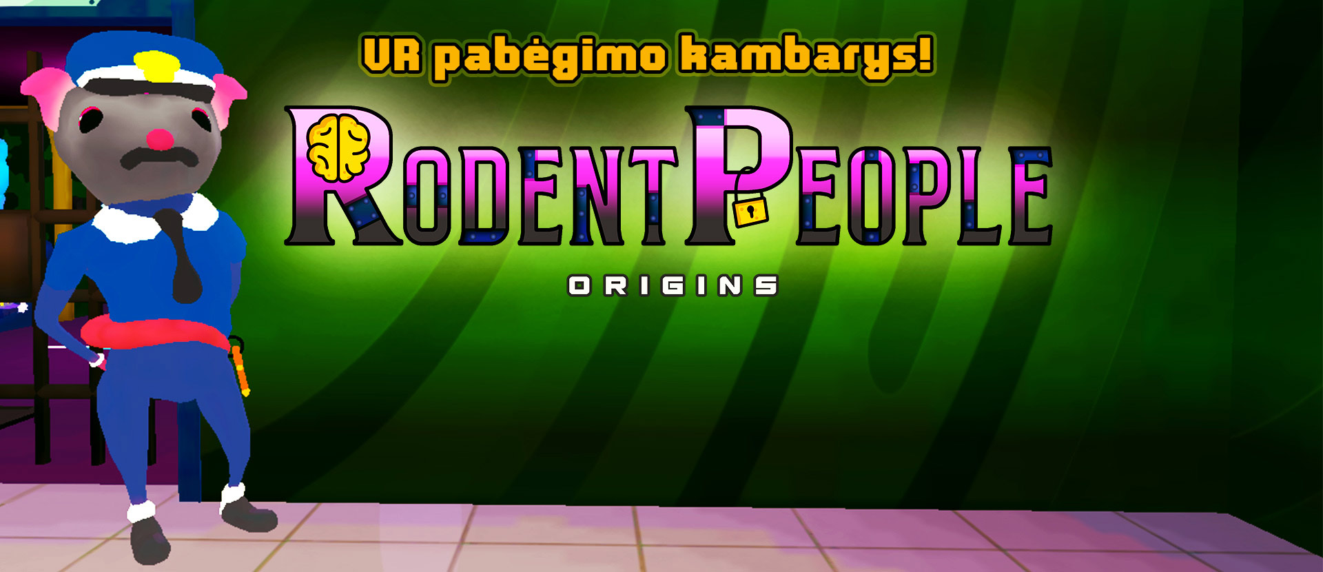 "VR escape room ""Rodent People: Origins"""