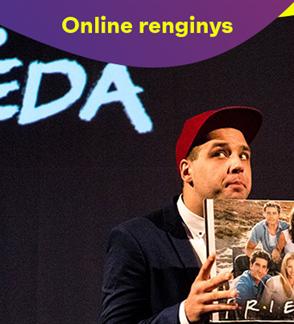 ONLINE: Kauno miesto kamerinis teatras | Sindikatas Bad Rabbits SAMURAJAUS KNYGA (rež. A. Jankevičius)