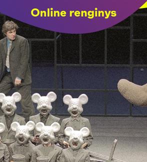 "ONLINE: OKT | Vilniaus miesto teatras: ""Oidipas karalius"" (rež. Oskaras Koršunovas)"