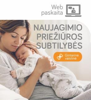 """LIVE: Web Seminaras """"Naujagimio priežiūros subtilybės"""""""