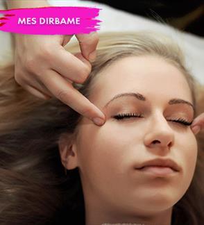 Veido, galvos, dekolte – plaštakų terapija