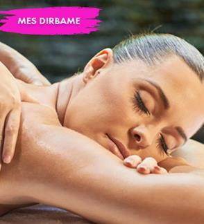 Atpalaiduojantis nugaros masažas