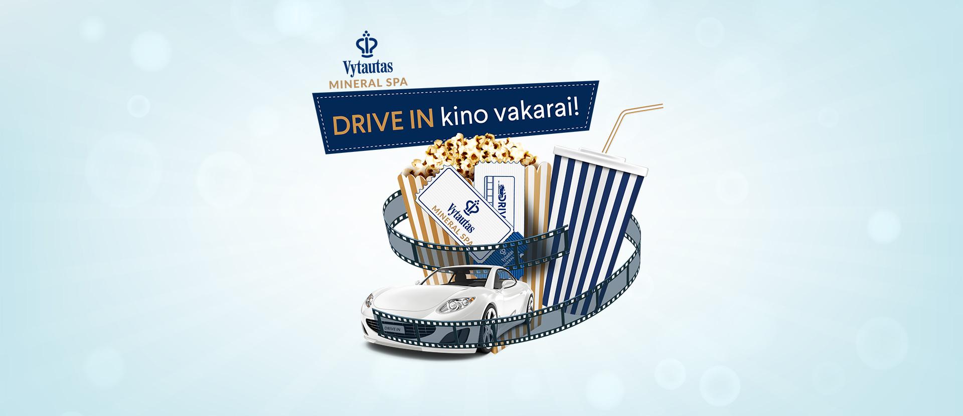 "DRIVE IN kino vakaras ""Vytautas Mineral SPA"""